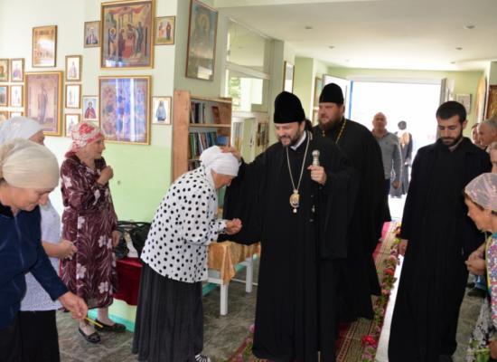 Епископ Леонид посетил храмы Ардонского церковного округа