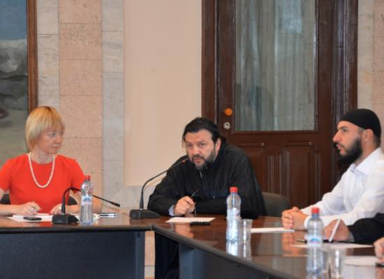 Владыка Леонид на конференции «Религиозная и национальная культура современного общества в контексте геополитической ситуации в регионе»
