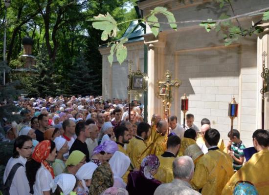 Епископ Леонид возглавил Божественную литургию в престольный праздник храма пророка Божия Илии