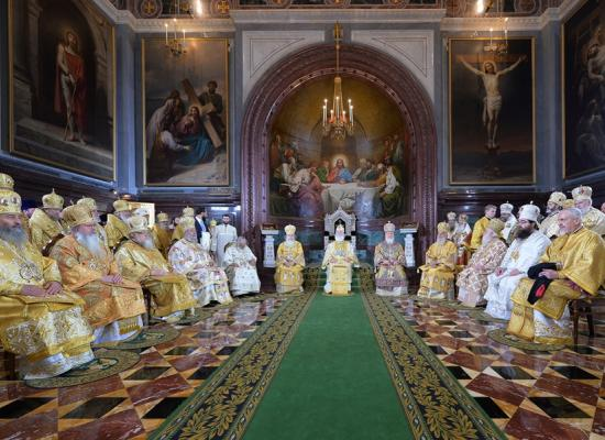 Епископ Леонид принял участие в торжествах по случаю юбилея Святейшего Патриарха Кирилла