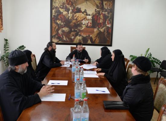 Епископ Леонид обсудил вопросы перевода Священного Писания и богослужебных книг на осетинский язык