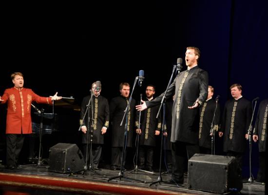 Хор Валаамского монастыря выступил во Владикавказе