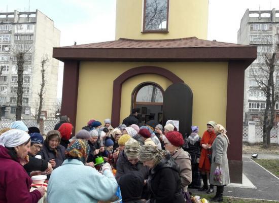 Совершена первая Литургия в храме святителя Луки на территории КБСП