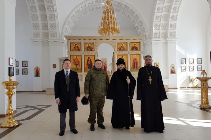 Продолжается визит епископа Леонида в Республику Армения