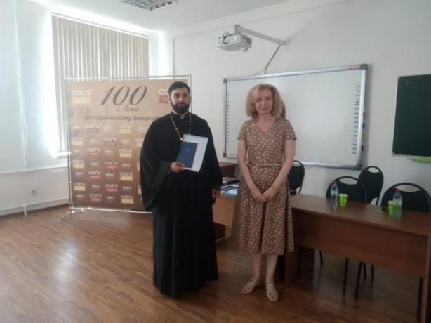 Священники Владикавказской епархии в числе первых выпускников отделения теологии СОГУ