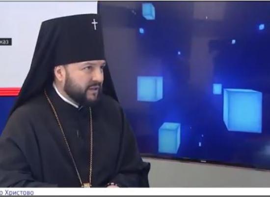 Интервью архиепископа Леонида программе Вести.Интервью с Розой Камболовой