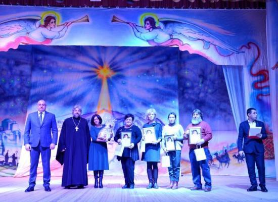 В Моздоке наградили участников конкурса детского рисунка «Рождественский вертеп»