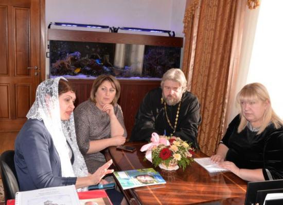 Введение курса ОПК в школах Осетии обсудили в Управлении Владикавказской епархии