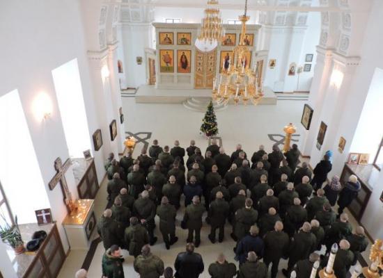 В храме мученицы царицы Александры в г. Гюмри отметили Рождество Христово