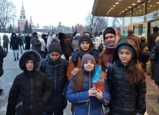 Учащиеся православной гимназии им. А. Колиева посетили Патриаршую елку