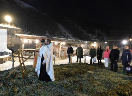 Военнослужащие 102-й военной российской базы в г. Гюмри отметилиКрещение Господне