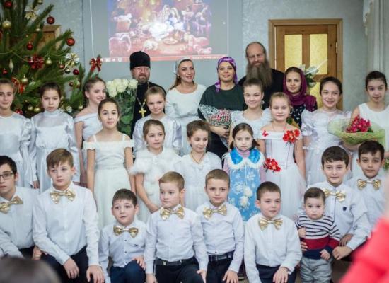 В приходе Георгиевского храма г. Ардона состоялся детский рождественский праздник