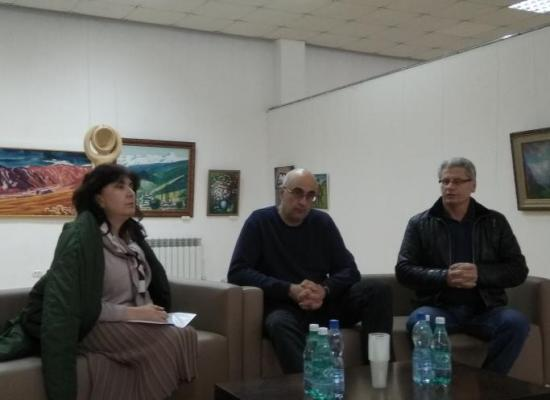 В рамках конкурса «Алания: образы прошлого» состоялась встреча художников и историков