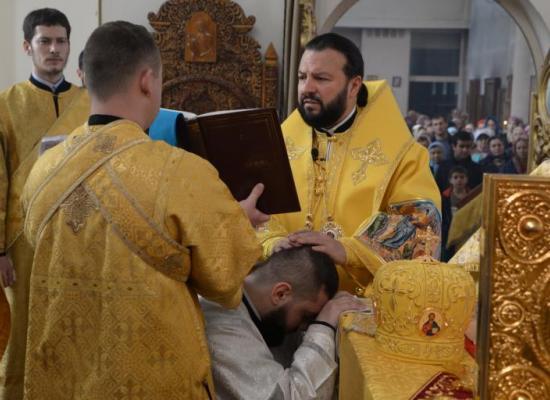 В Прощеное воскресенье архиепископ Леонид совершил Литургию в Свято-Георгиевском кафедральном соборе