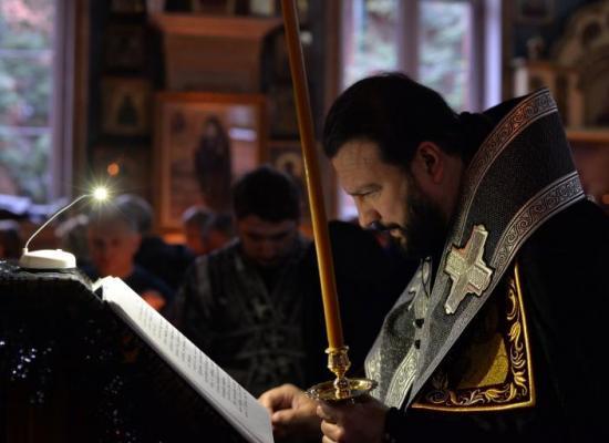 В храмах Владикавказской епархии завершилось чтение Великого Покаянного канона Андрея Критского