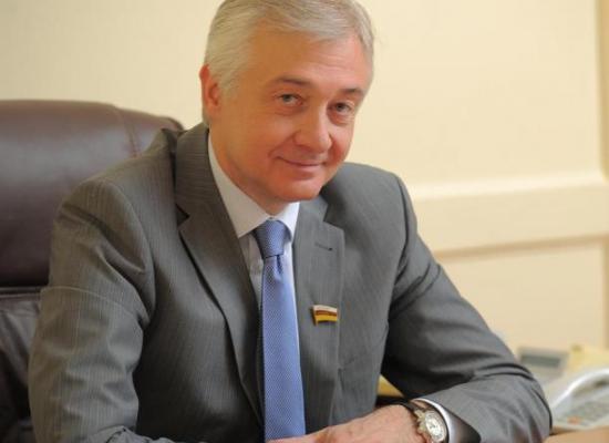 Архиепископ Леонид поздравил с юбилеем А.В. Мачнева