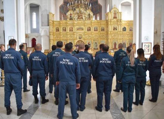 Во Владикавказе состоялся традиционный молебен перед иконой Пресвятой Богородицы «Неопалимая купина»