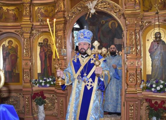 Архиепископ Леонид возглавил престольный праздник храма на Осетинской горке Владикавказа