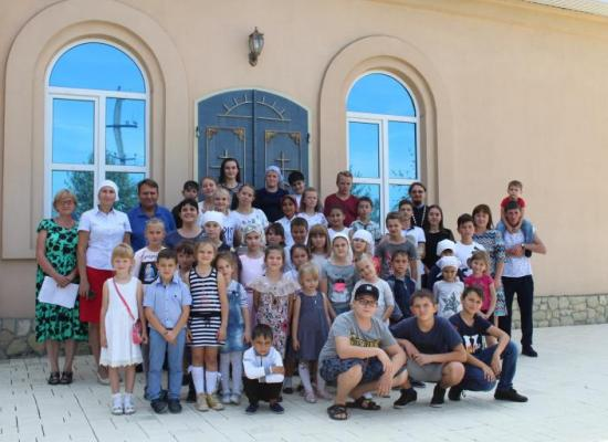 В воскресной школе храма Архистратига Божия Михаила станицы Луковская начался новый учебный год