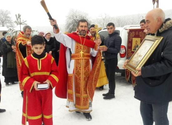 В храме села Новый Урух отметили престольный праздник