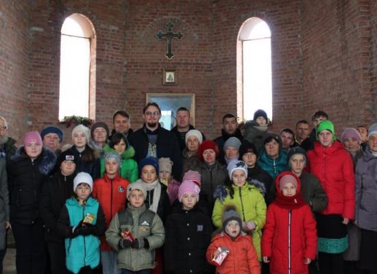 В храме Казанской иконы Божией Матери с.Киевское отметили престольные торжества