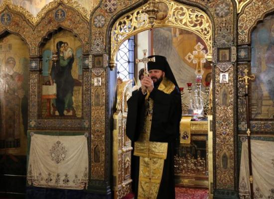 Заместитель председателя ОВЦС архиепископ Владикавказский и Аланский Леонид посетил Подворье Патриарха Московского и всея Руси в Софии