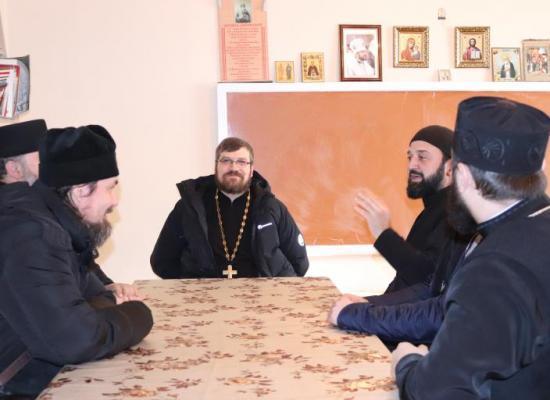 В станице Архонской прошло собрание духовенства Октябрьского благочиния