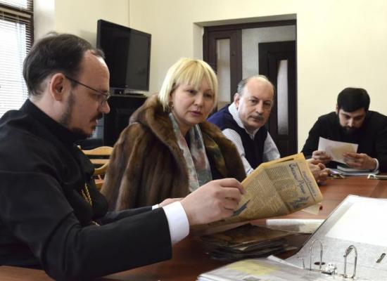 Епархиальная комиссия по канонизации святых обсудила план работы