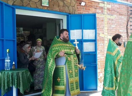 Престольный праздник храма Святого Духа в юбилейный год