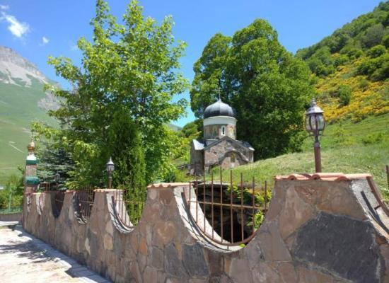 Праздник Святой Троицы в Горной Санибе