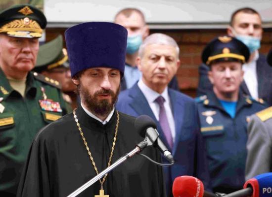 Представитель Владикавказской епархии принял участие в юбилее 58-й армии