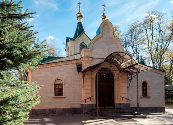 Поздравление архиепископа Леонида настоятелю и прихожанам Ильинского храма с престольным праздником
