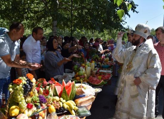Архиепископ Леонид возглавил Божественную литургию в праздник Преображения Господня