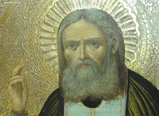 Поздравление Архиепископа Леонида с престольным праздником храма Серафима Саровского