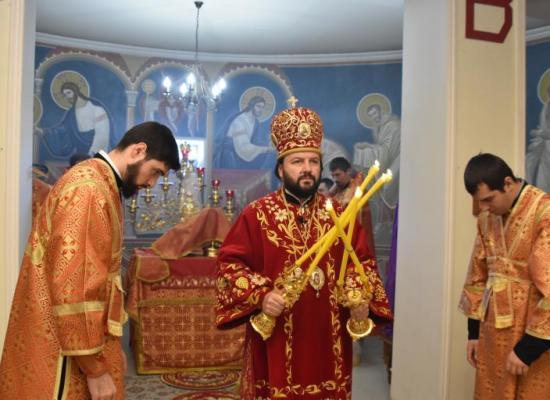Архиепископ Леонид возглавил престольный праздник Свято-Георгиевского Кафедрального собора