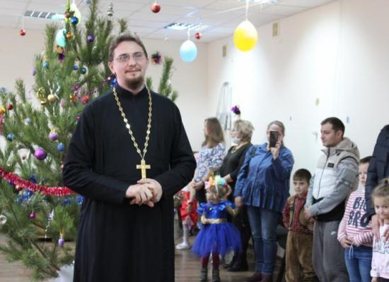 Детский Рождественский праздник казачьей общины