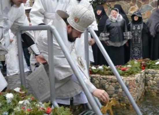 Архиепископ Леонид возглавит богослужение в Крещенский сочельник