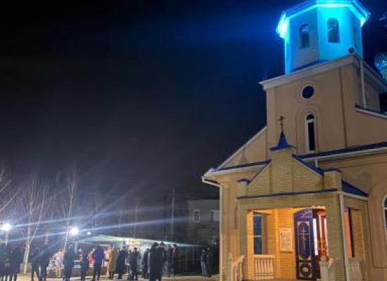 Крещенские купания прошли в станице Луковской