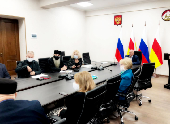 Заседание Комиссии по вопросам помилования на территории РСО-Алания