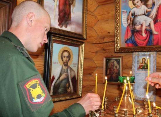 Праздничный молебен по случаю Дня воинской славы России