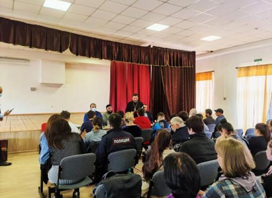Иерей Иларион Хайманов выступил с докладом «Несовместимость понятий вера и экстремизм»