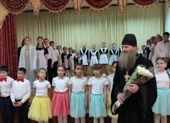 Пасхальный концерт в ардонской средней школе