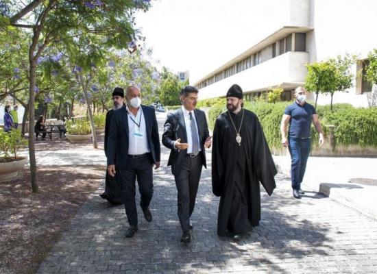 Интервью архиепископа Владикавказского и Аланского Леонида об итогах визита в Ливан. Видео