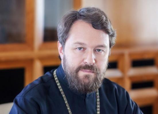 Поздравление митрополита Волоколамского Илариона архиепископу Леониду с днем тезоименитства