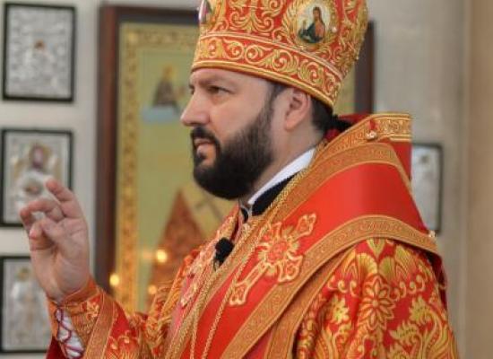 Поздравление Архиепископу Владикавказскому Леониду с днем архиерейской хиротонии