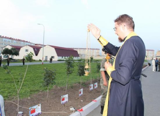 Священник василий Грибенченко принял участие в мероприятиях по случаю годовщины начала Великой Отечественной войны