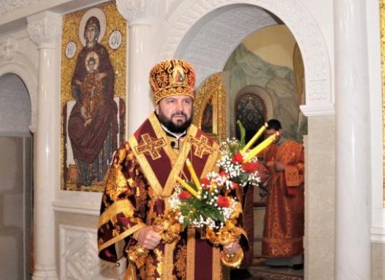 Поздравление архиепископу Леониду с днем тезоименитства