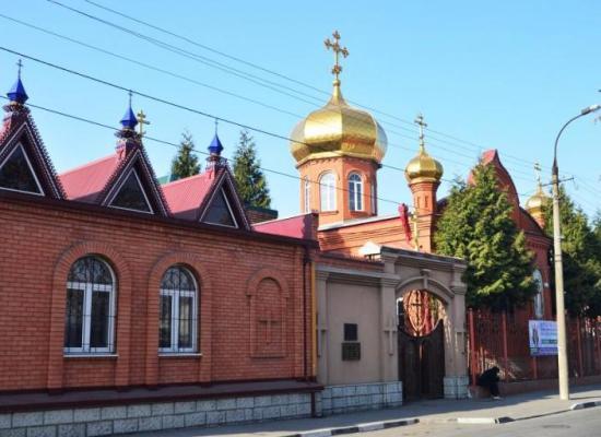 Поздравление архиепископа Леонида настоятелю и прихожанам Покровского храма