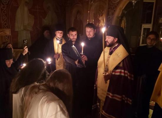 Архиепископ Леонид совершил монашеский постриг в Аланском Богоявленском женском монастыре