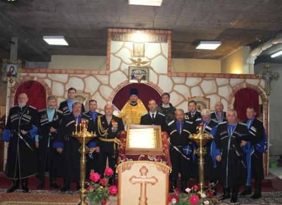 Божественная литургия в день Терского казачьего войска